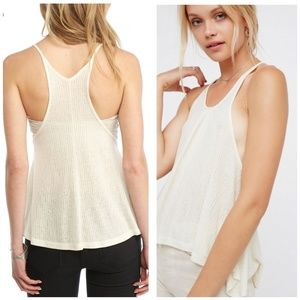 ♦️ 3for$30 Free People Wear Me Now Tank Ivory
